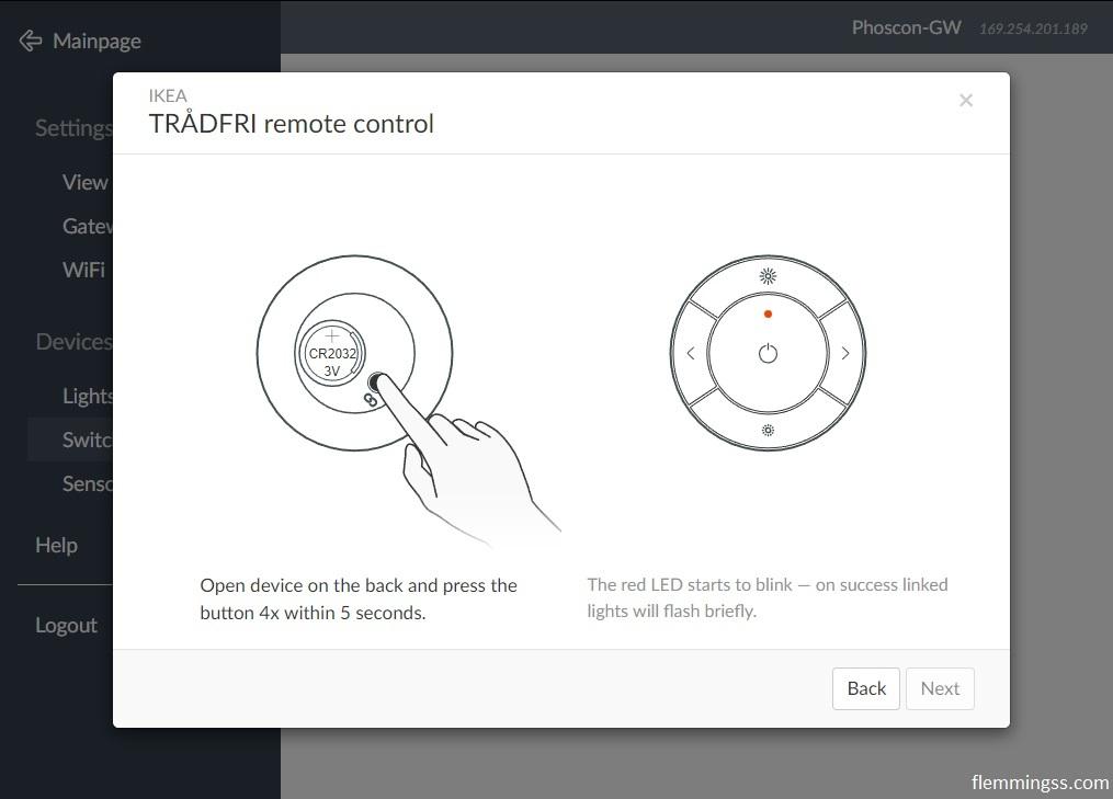 deCONZ screenshot